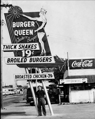 Burger Queen Sign Studios