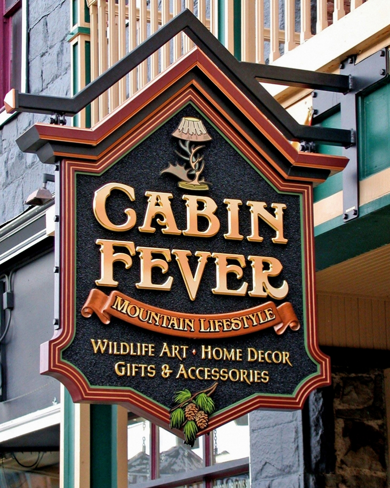 Cabin Fever Sign Studios