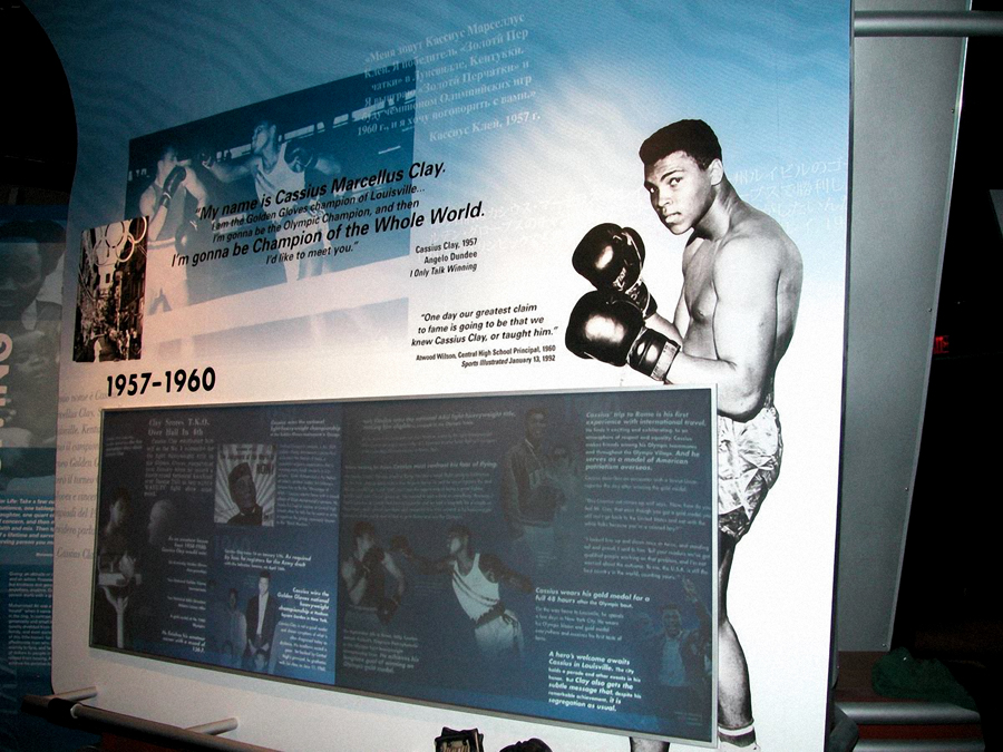 Cassius Boxing Wall