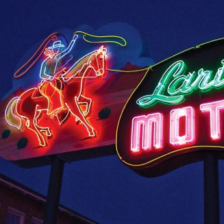 Lariat Motel Sign Studios