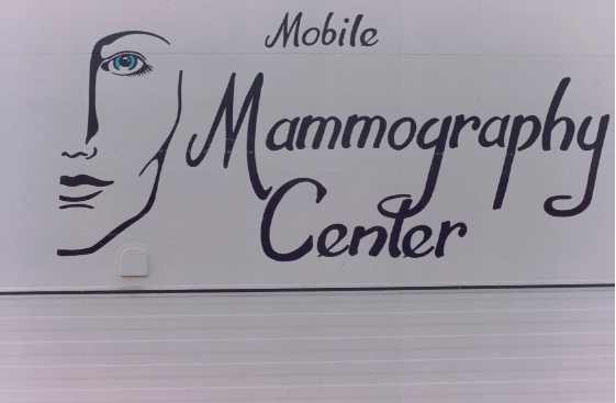 Mammography Center Sign Studios
