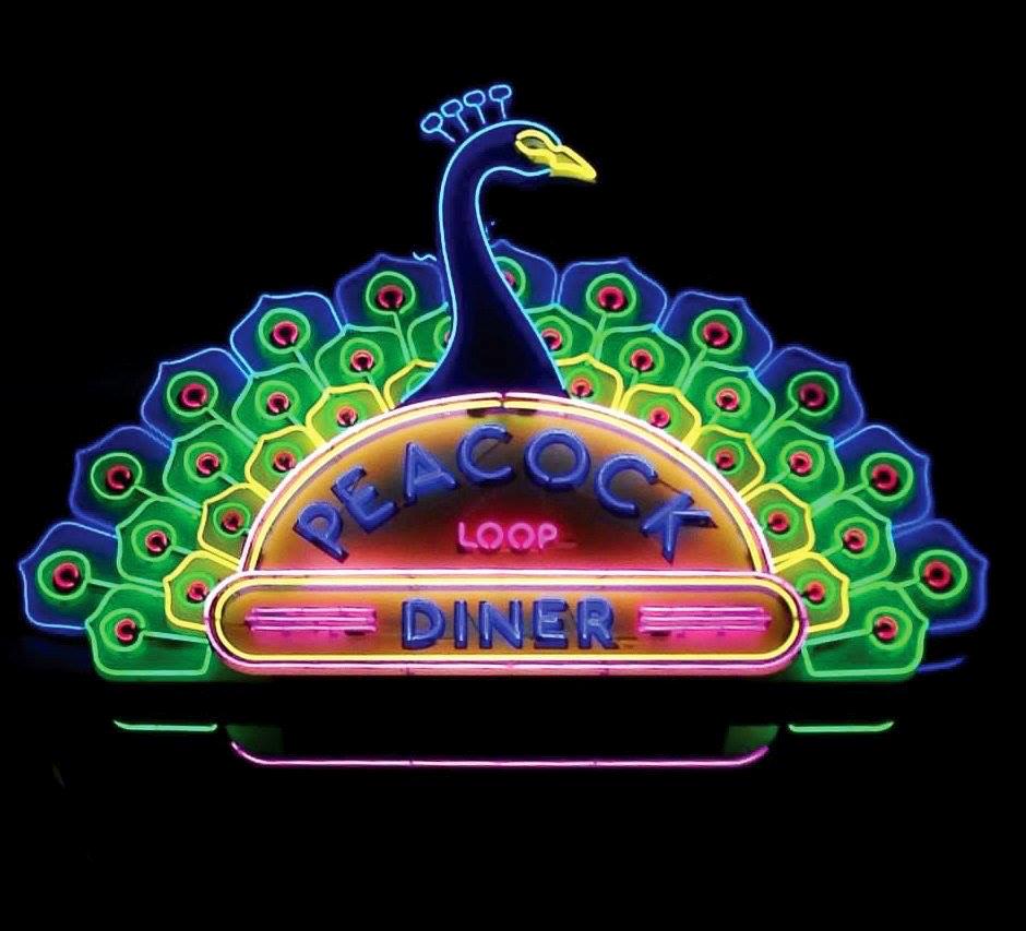 Peacock Loop Diner edited