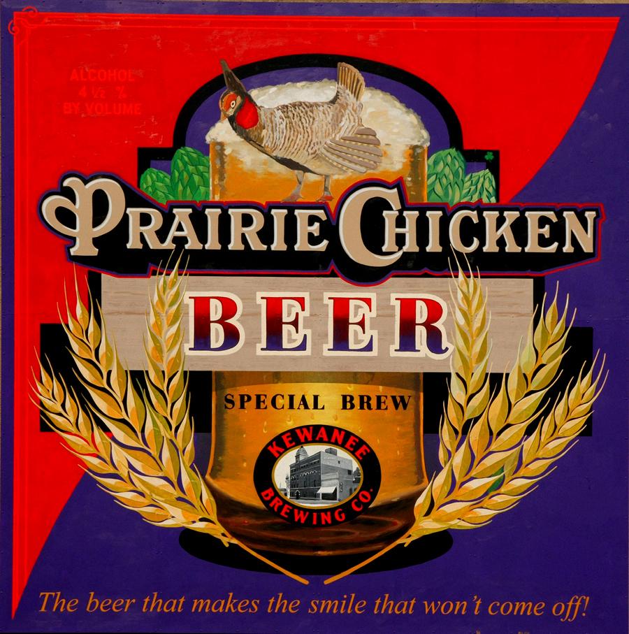 Prarie Chicken Sign Studios