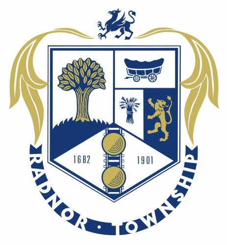 Radnor Township Gold Logo Sign Studios