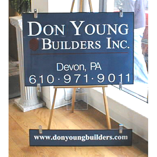 Site Sign-donyoung Sign Studios