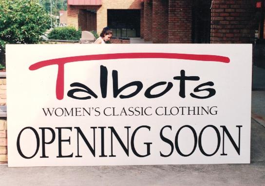 Talbots Opening