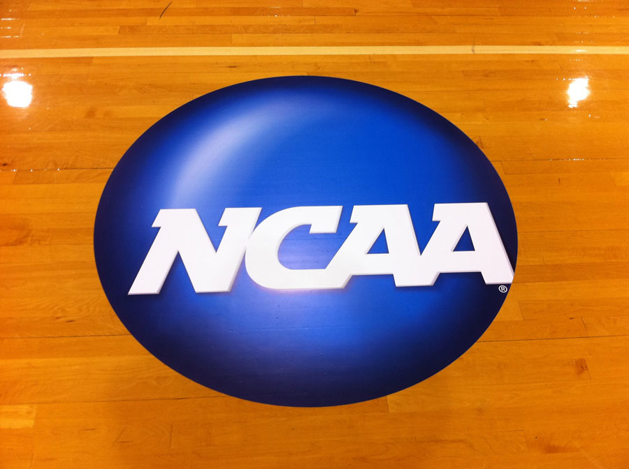 college-basketball-court-decals Sign Studios