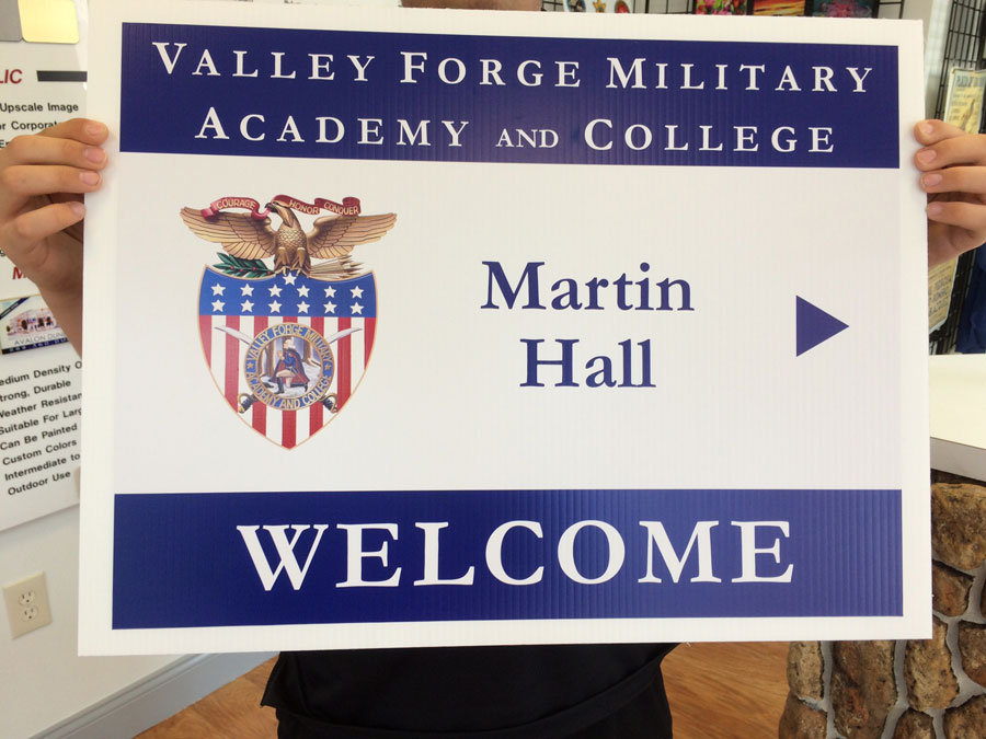 college-directional-signs Sign Studios
