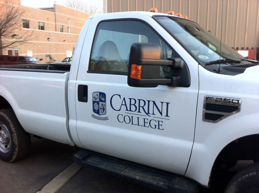 college-truck-vehicle-decals Sign Studios