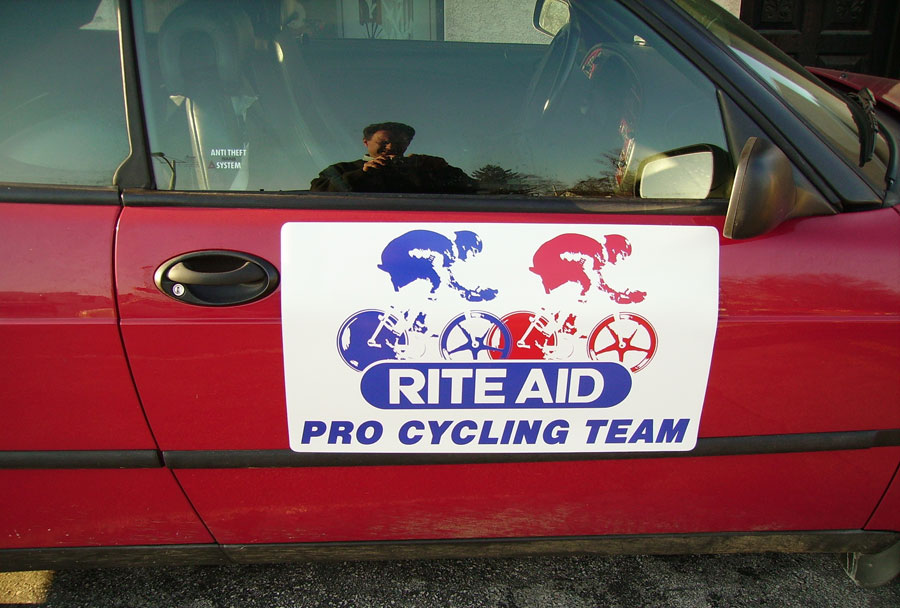 Rite Aid Pro Cycling Team Magnet