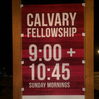Calvary Fellowship Post and Panel