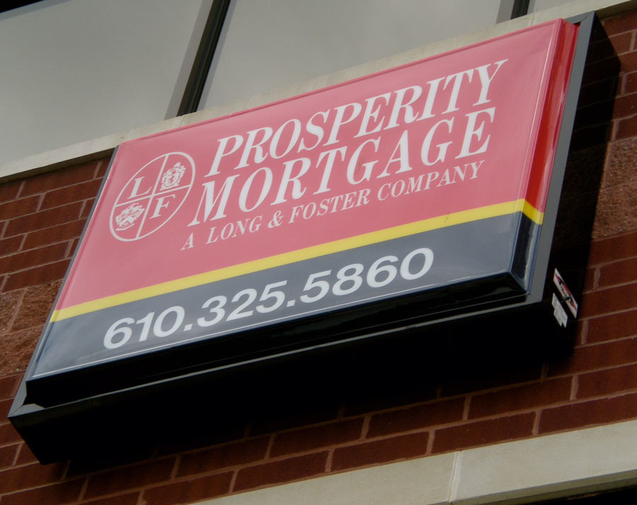 Prosperity Mortgage Illuminated Cabinet