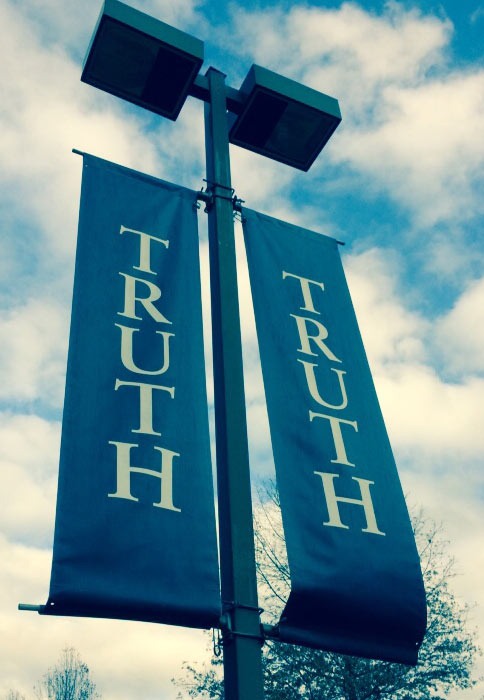 Truth Pole Banners
