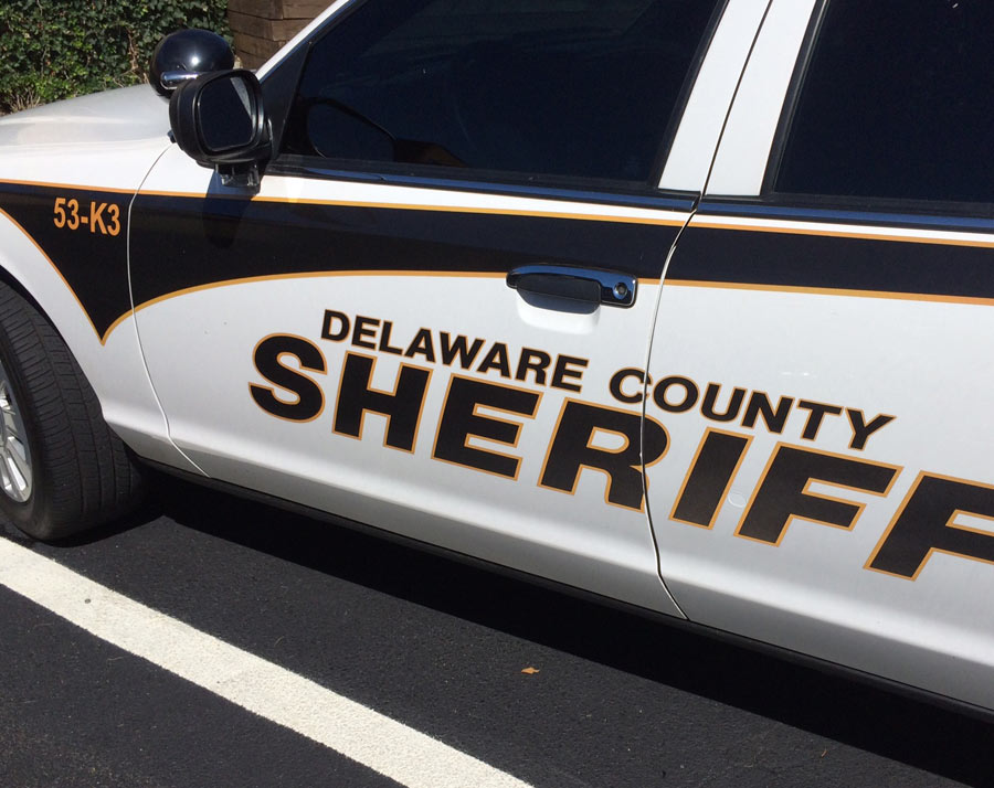 police-car-vehicle-lettering-delaware-county-pa Sign Studios