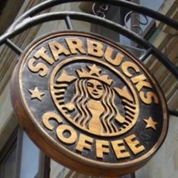 Starbucks Redwood Sign