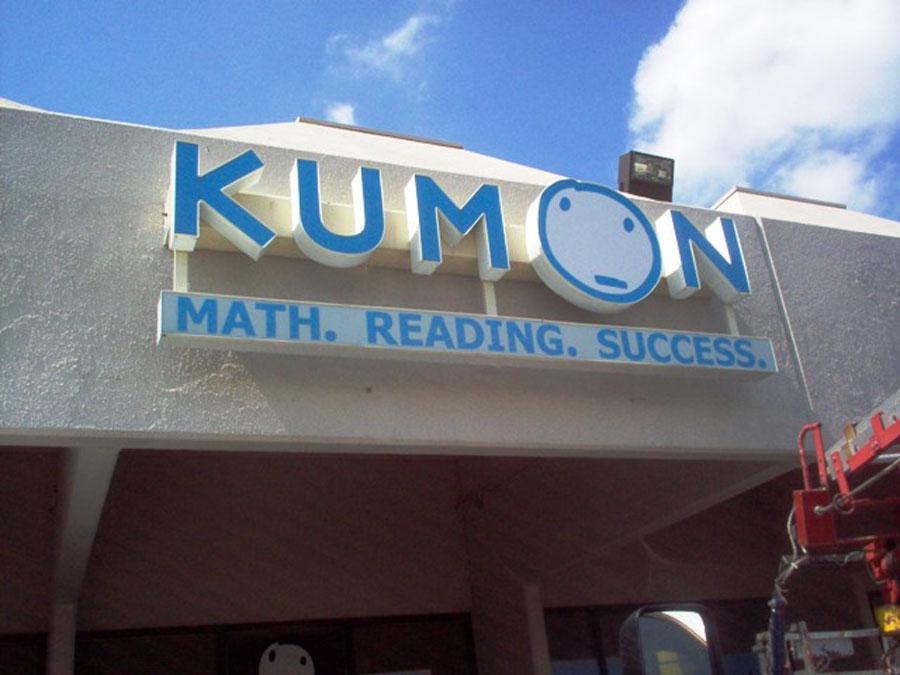 Kumon Channel Letters