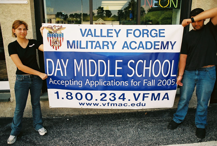 Valley Forge Military Academy Banner