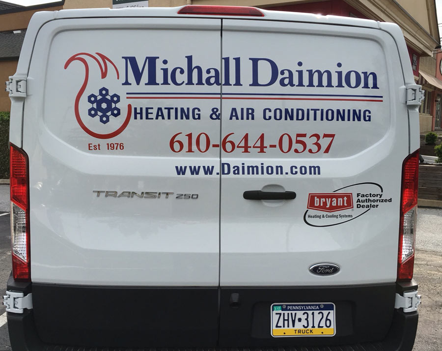 van-vehicle-lettering-delaware-county-pa Sign Studios