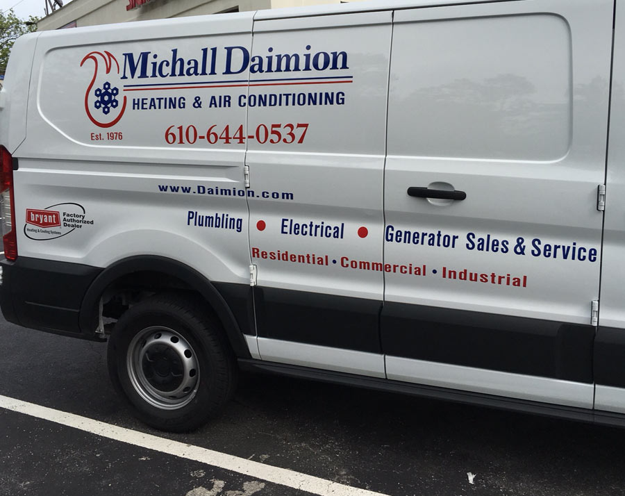 Michall Daimion Vehicle Lettering