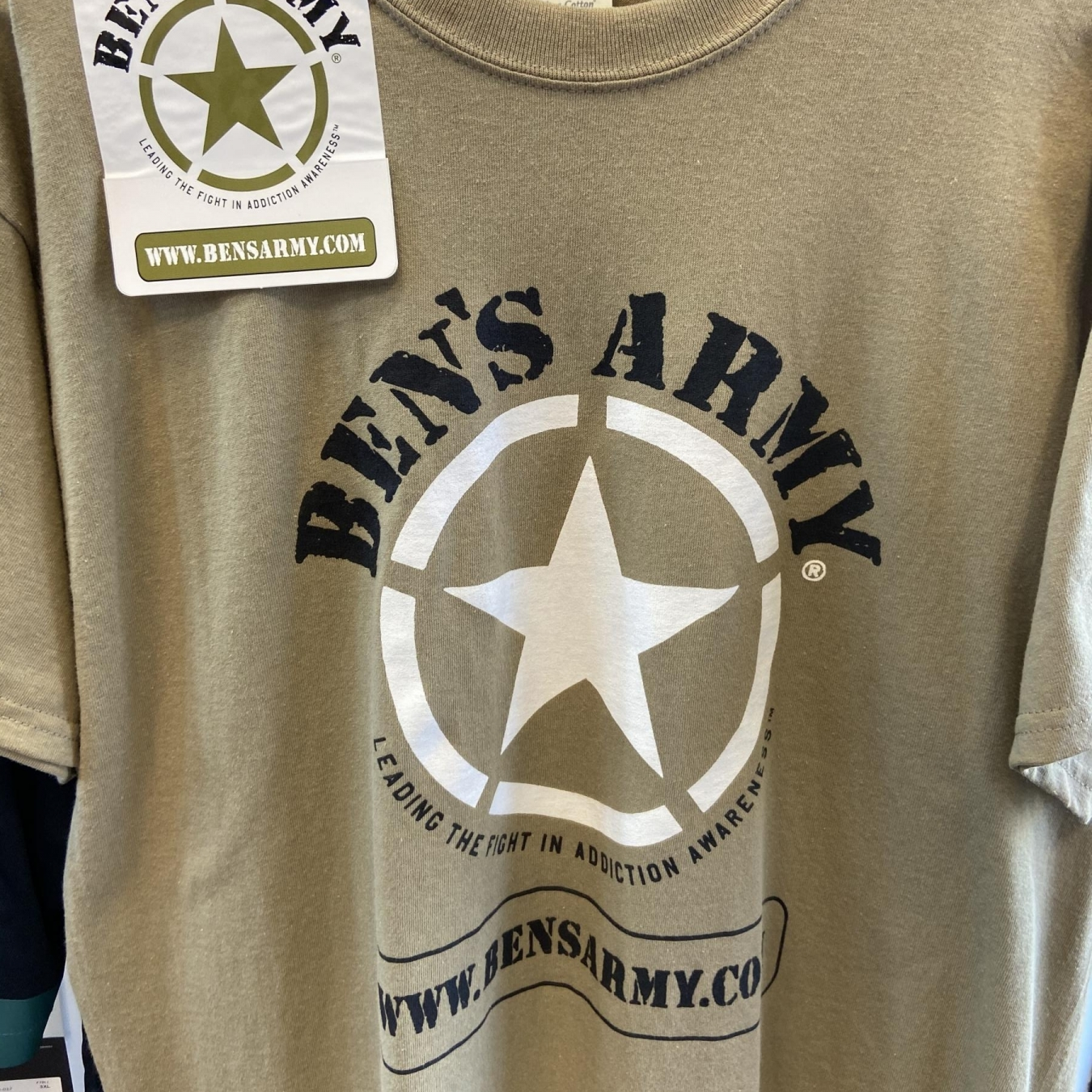 Ben's Army Screen Printed T-Shirt