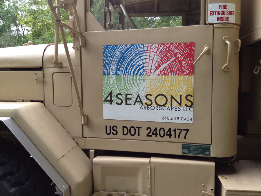 4 Seasons 1 landscape Sign Studios