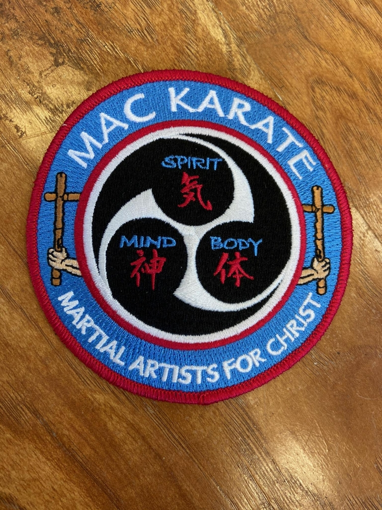 MAC Karate Patch