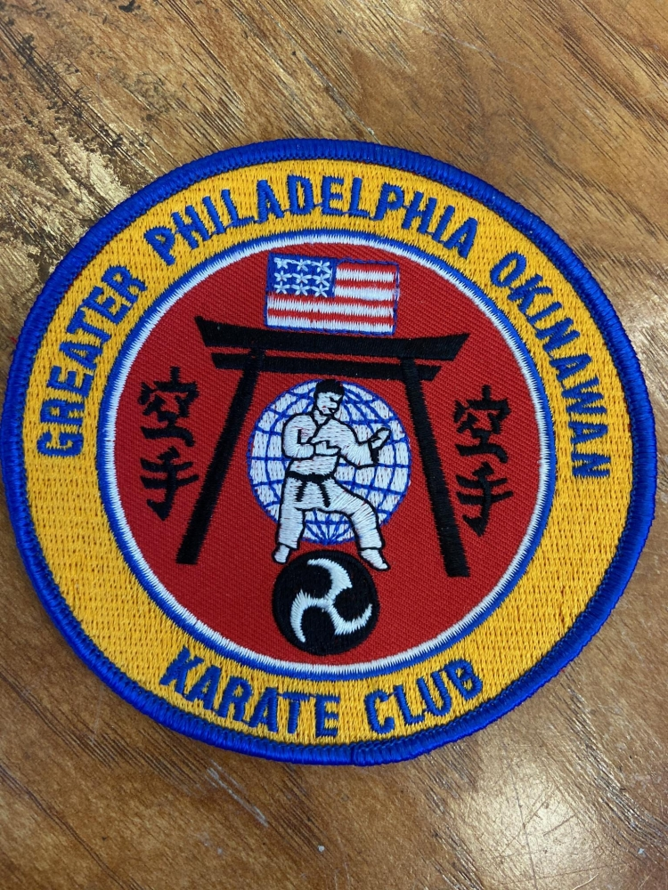 Greater Philadelphia Okinawan Karate Club Patch