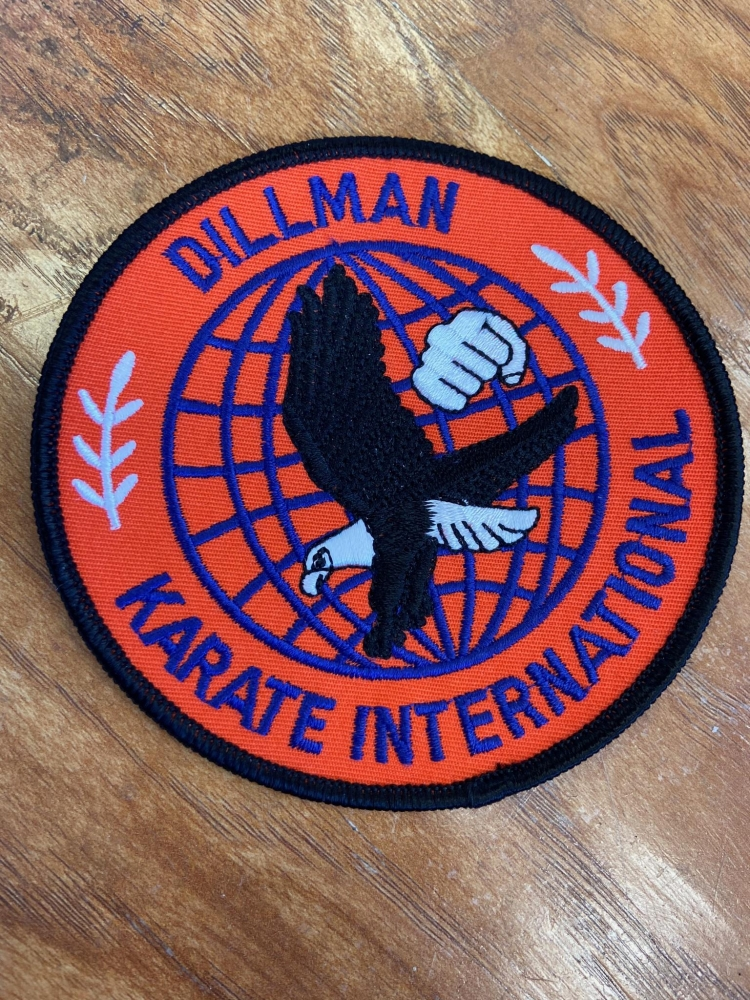 Dillman Karate International Patch