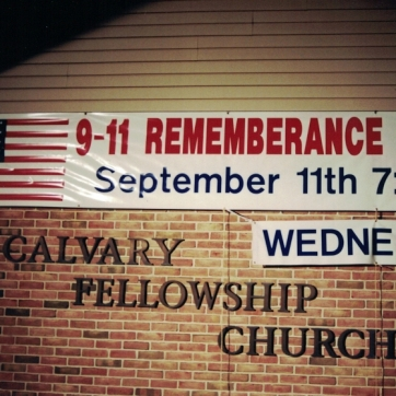 9-11 Church Service Sign Studios