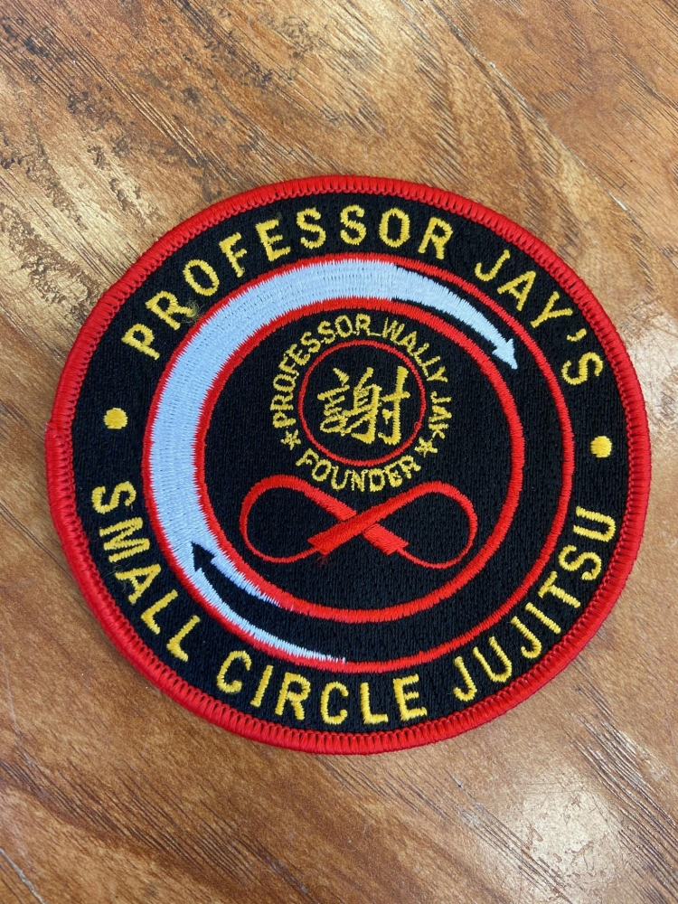 Professor Jay's Small Circle Jujitsu Patch