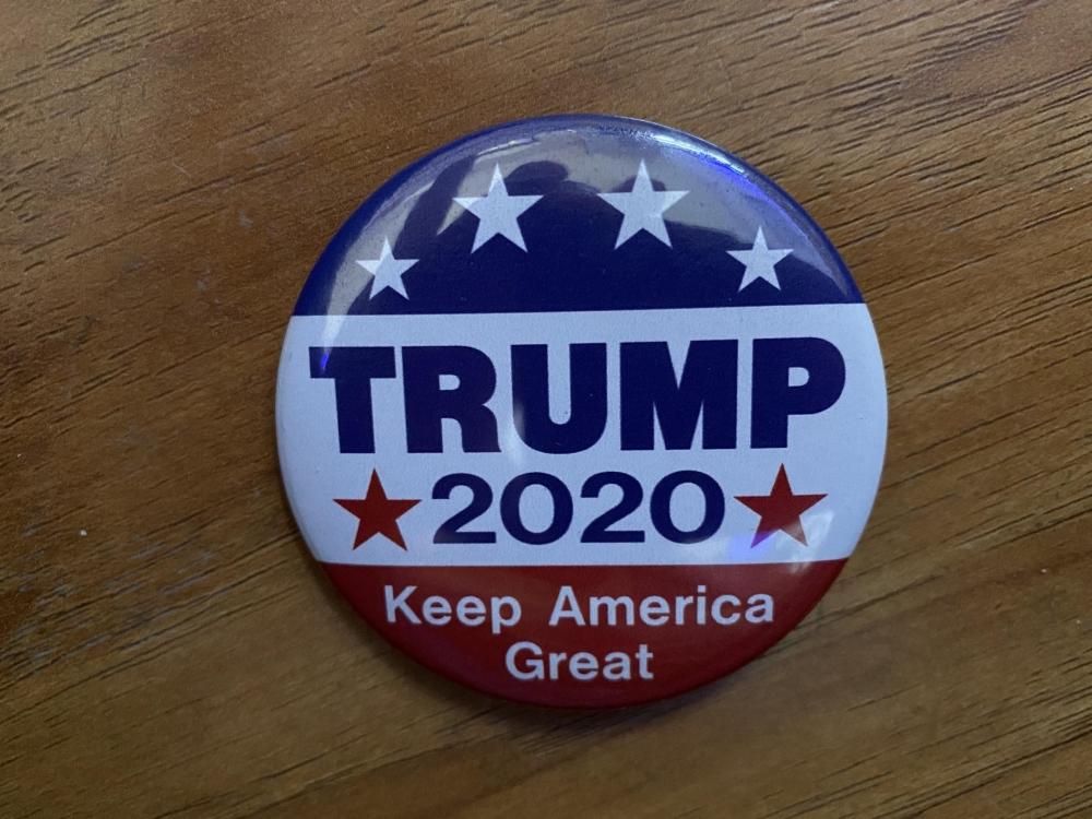 Trump 2020 Button