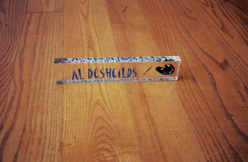 Al Desheilds Name Plate
