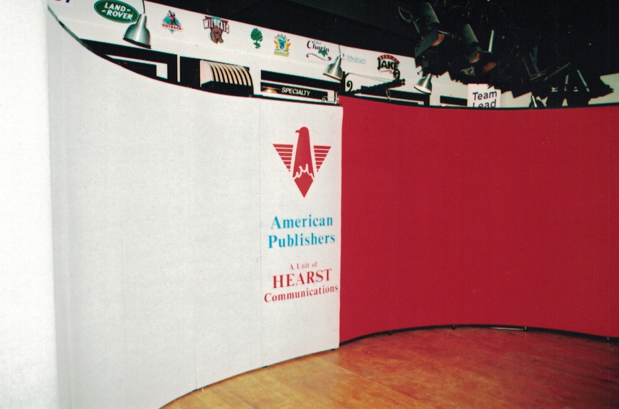 American Publishers Trade Show Booth