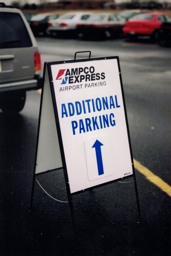 Ampco Express directional Sign Studios
