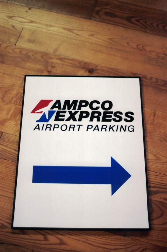 Ampco Express parking 2 Sign Studios