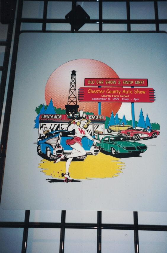 Auto Show Acrylic Sign Studios