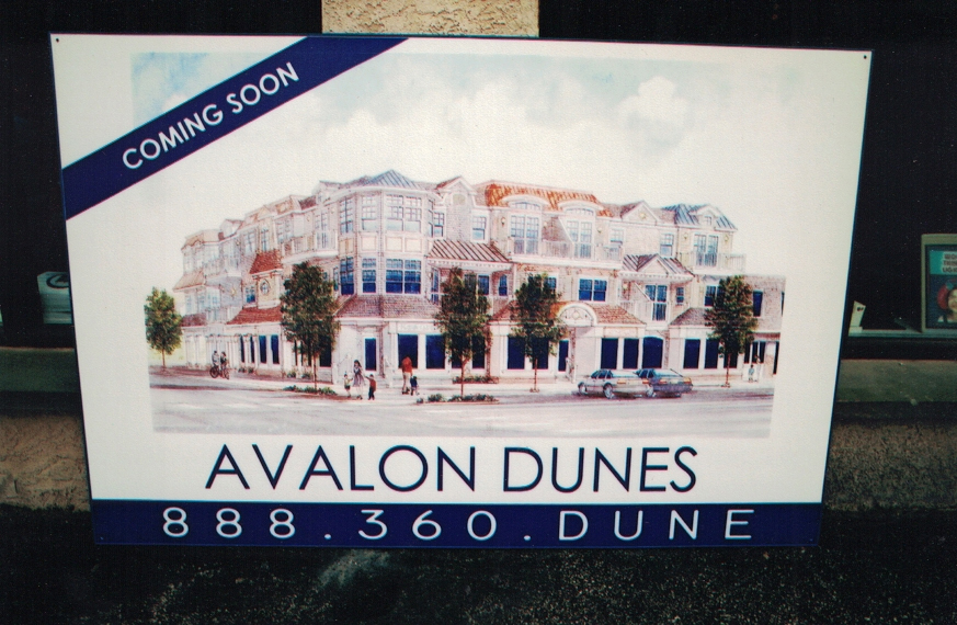 Avalon Dunes real estate Sign Studios