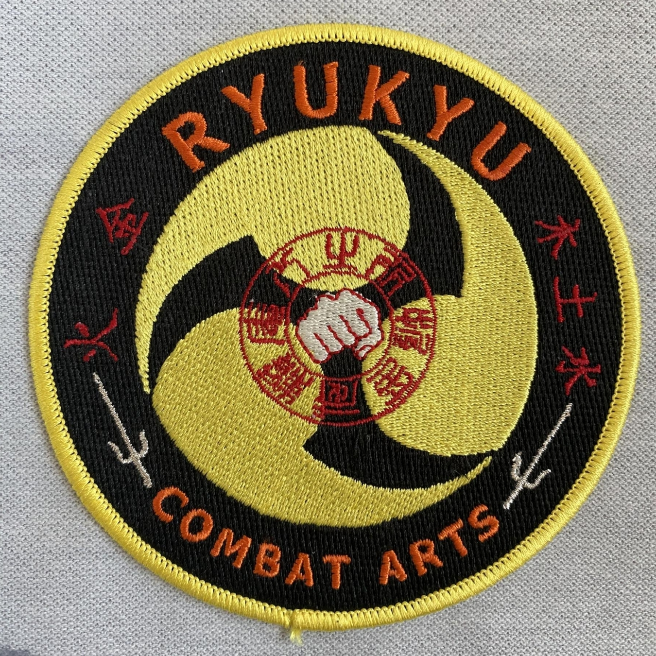 Ryukyu Combat Arts Embroidered Patch