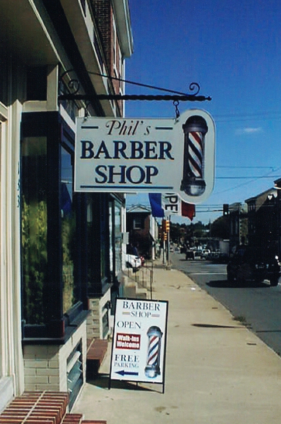 Barber Shop retail Sign Studios