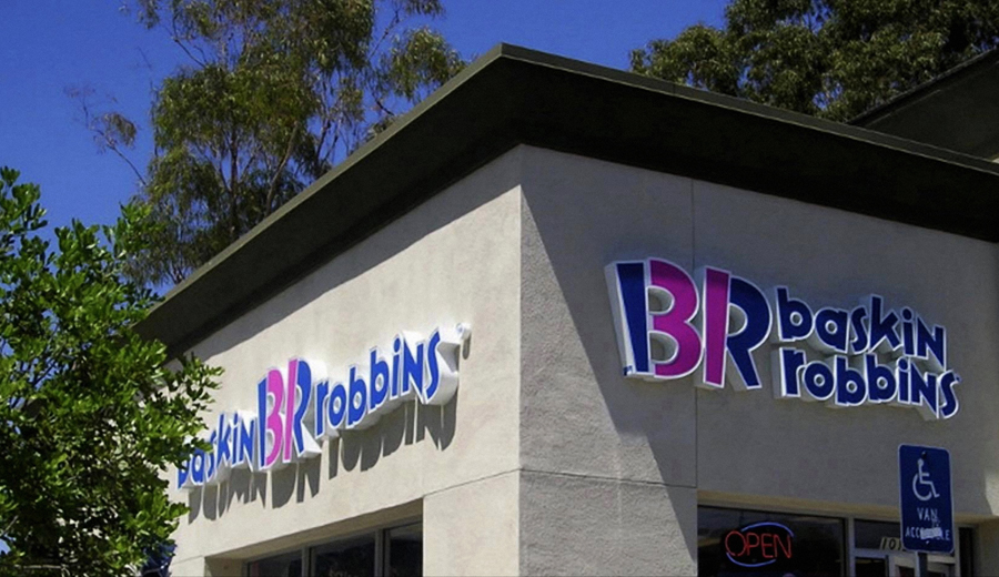 Baskin Robins Channel Letters Sign Studios