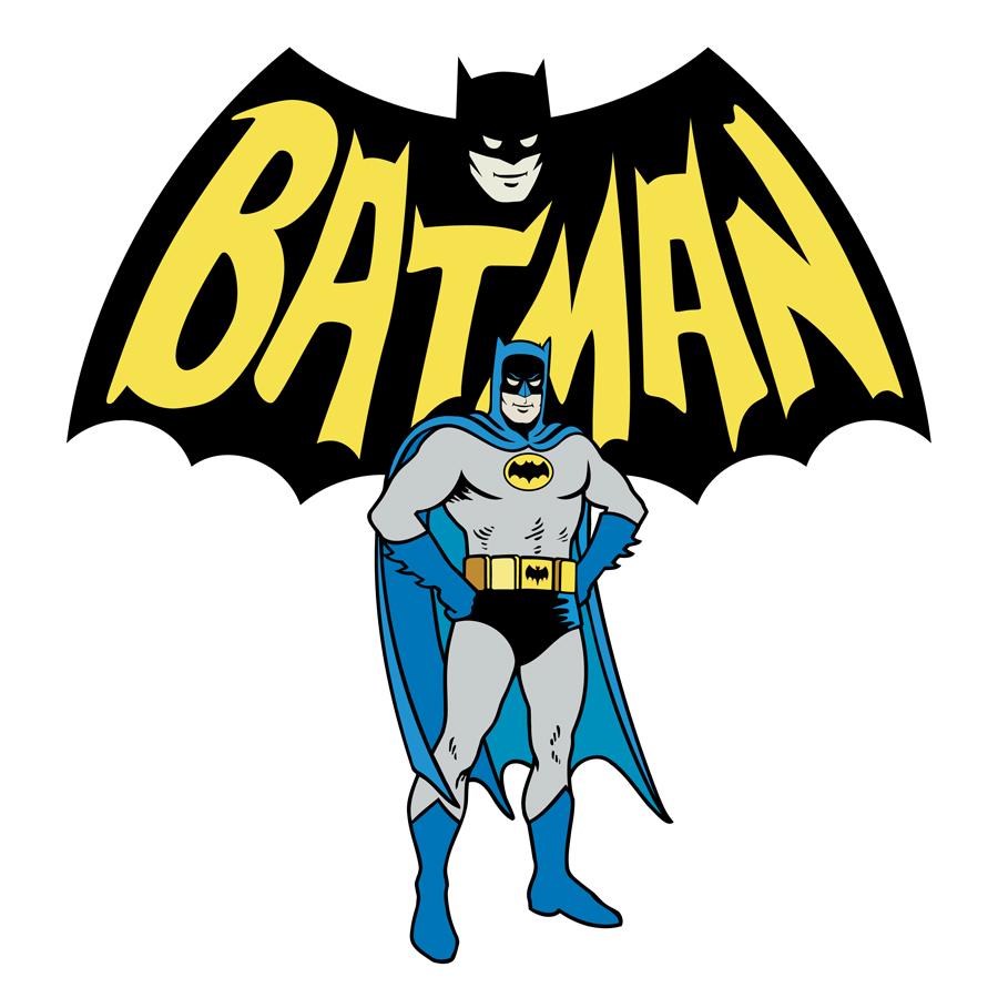 Batman 1960 Logo Sign Studios
