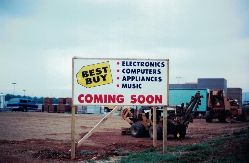 Best Buy retail Sign Studios