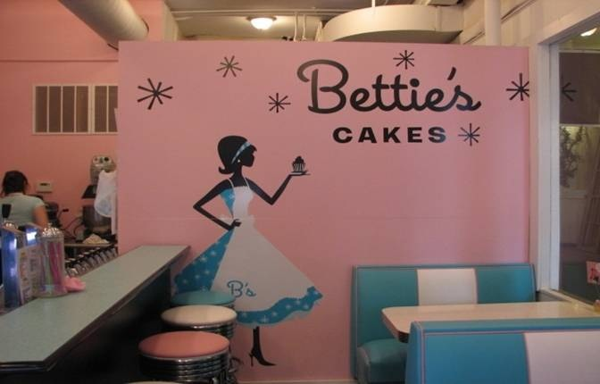 Bettie's Cakes Wall Graphics