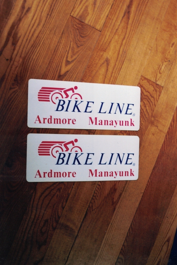 Bike Line magnet Sign Studios