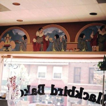 Blackbird Bakery wall Sign Studios