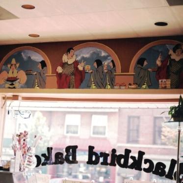 Blackbird Bakery Wall Graphics