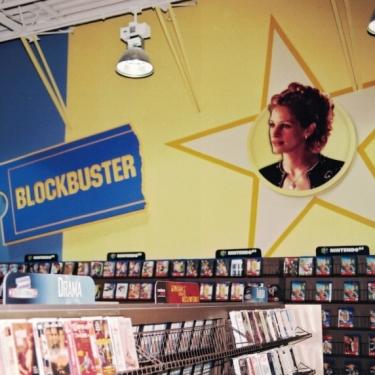 Blockbuster 2 wall Sign Studios