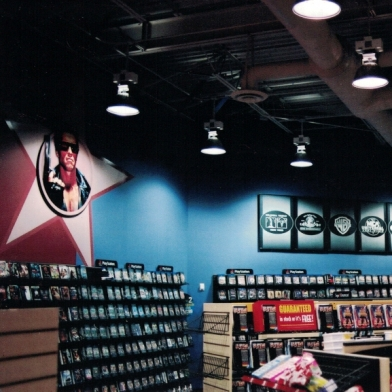 Blockbuster Store Interior Wall Graphics