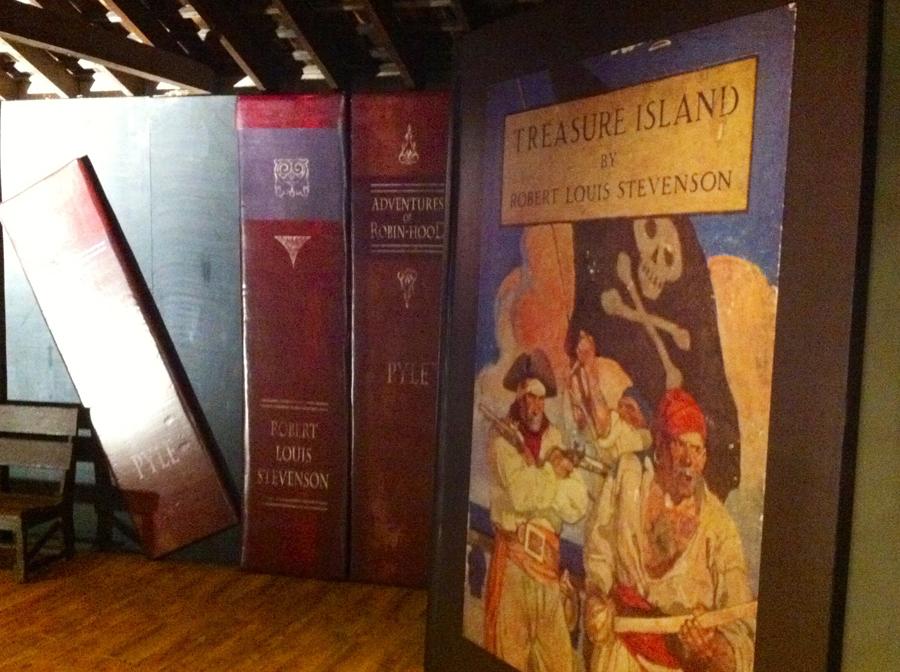 Large Book Replicas Custom Work