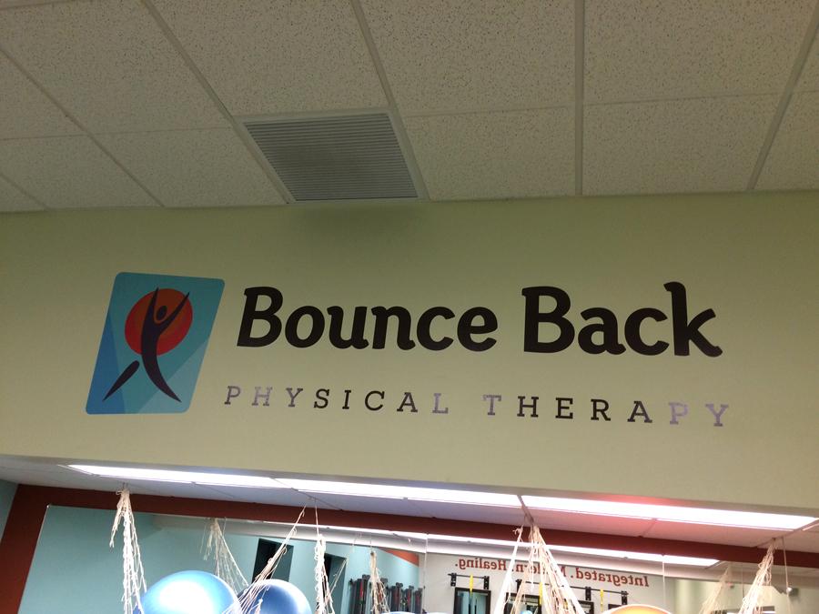 Bounce Back 2 wall